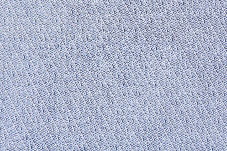Tailormate | Blå skjorte stof med striper og mønster