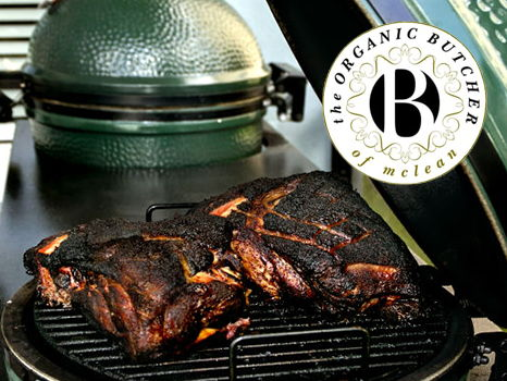 Large Big Green Egg fromThe Organic Butcher of McLean & Gift Certificate