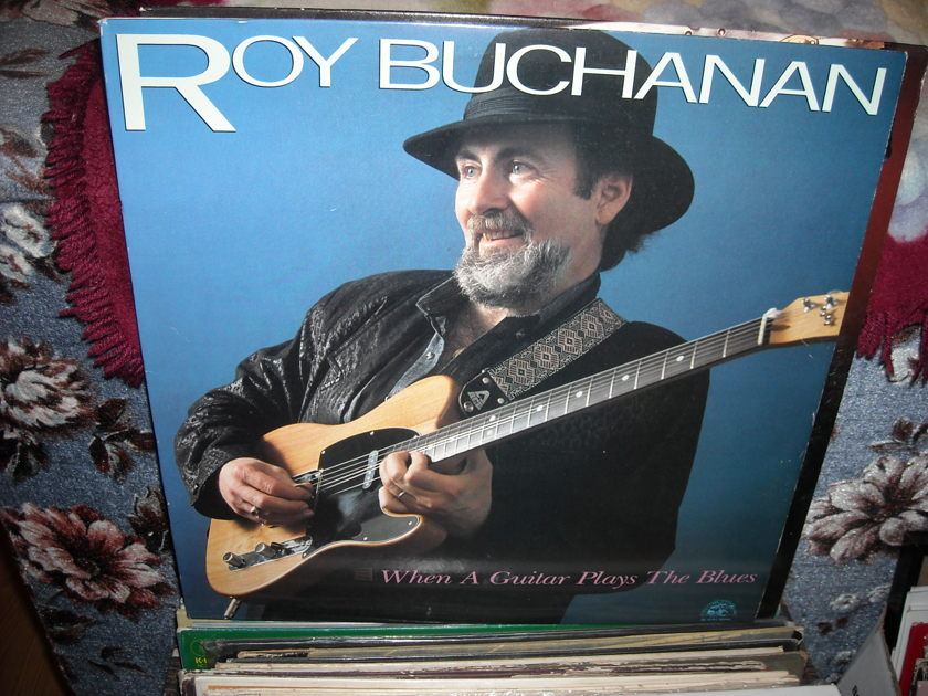 Roy Buchanan - When A Guitar Plays The Blues Alligator LP (c)