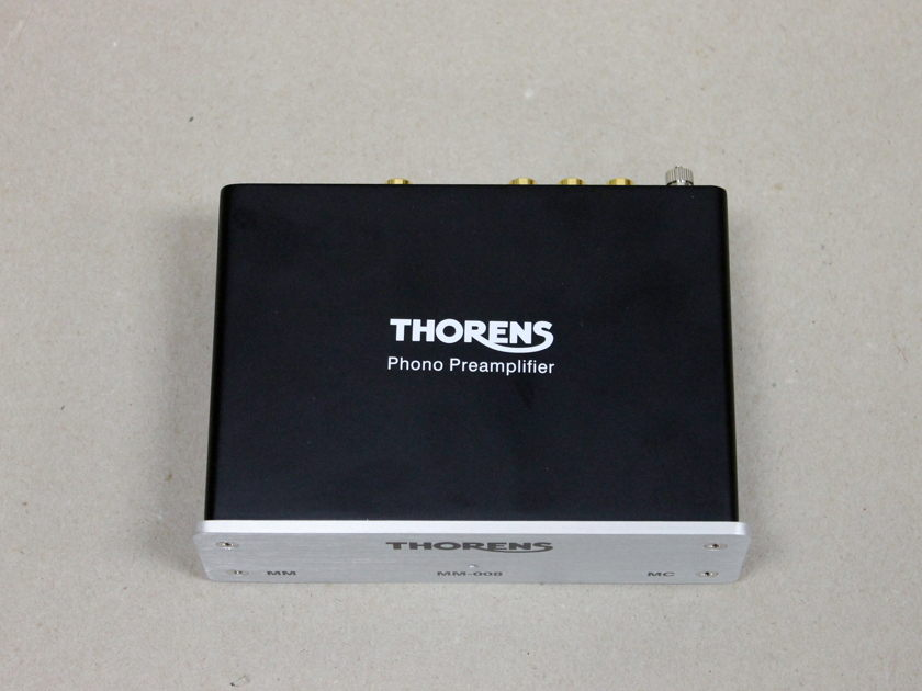 Thorens MM-008 Phono Preamplifier, Open Box