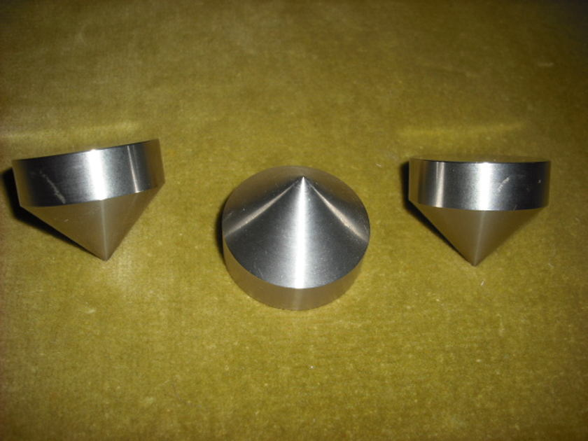 """Soler Points Stainless Steel 1"""" isolation cones 1 3/8"""" wide x 1"""" tall"""