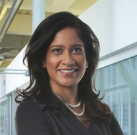 Naureen Hassan was recently named to Schwab's sexiest role -- launching its automated advice bot.