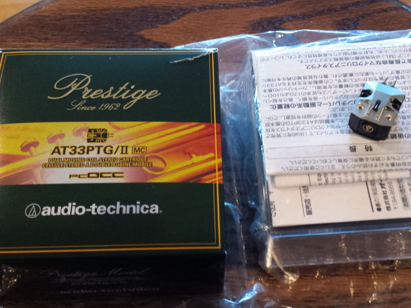 Audio Technica AT33PTG/II moving coil phono cartridge