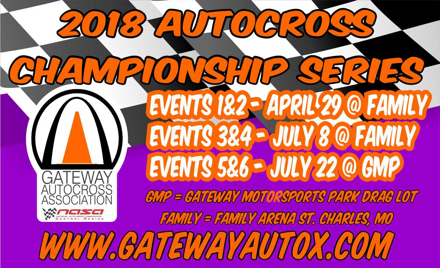 Gateway AutoCross 2018 Championship Events 1&2