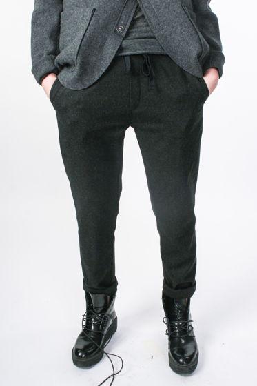 Женские брюки из 100% шерсти