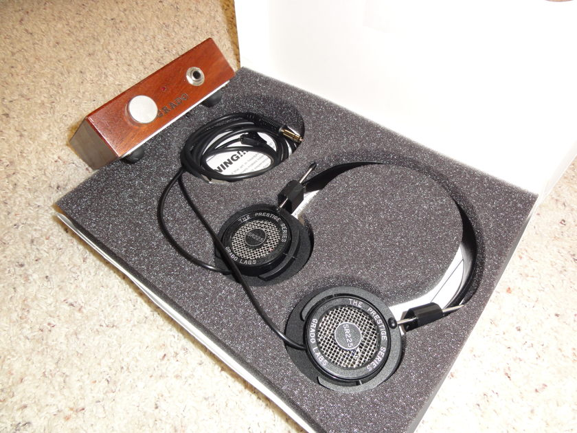 Grado Labs RA1 and SR225i amp and cans