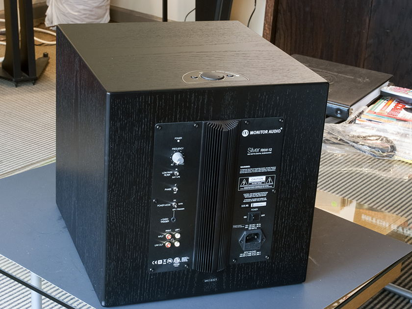 Monitor Audio Silver RXW12. Powered Subwoofer.