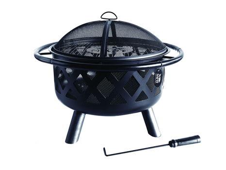 30-Inch Lattice Fire Pit