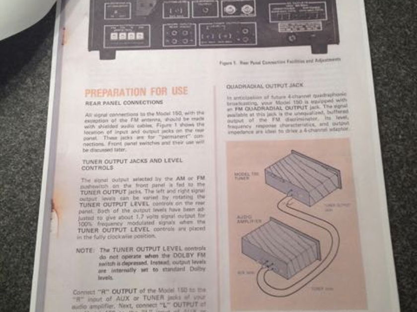 Marantz ST-150 Tuner - Near Mint - Price Reduced / Free Shipping