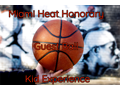 Miami Heat Honorary Guest Ball Kid Experience