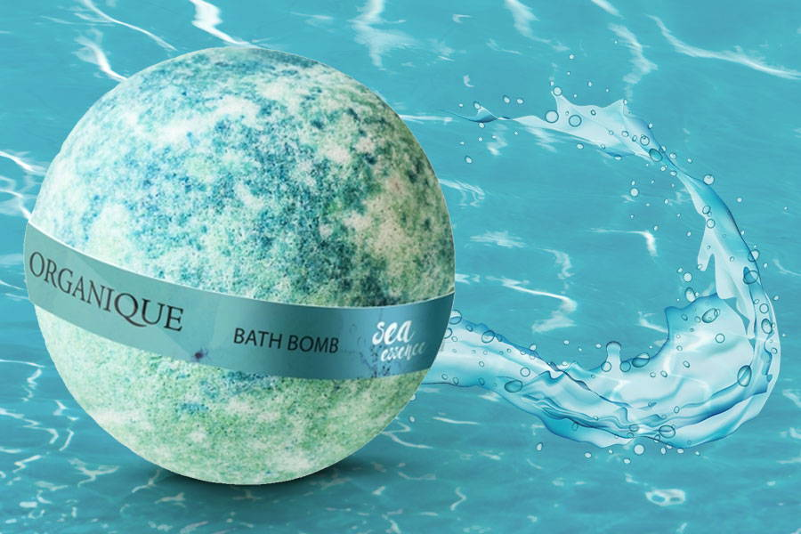 Nourishing natural potato starch Bath Bomb Sea Essence 170g