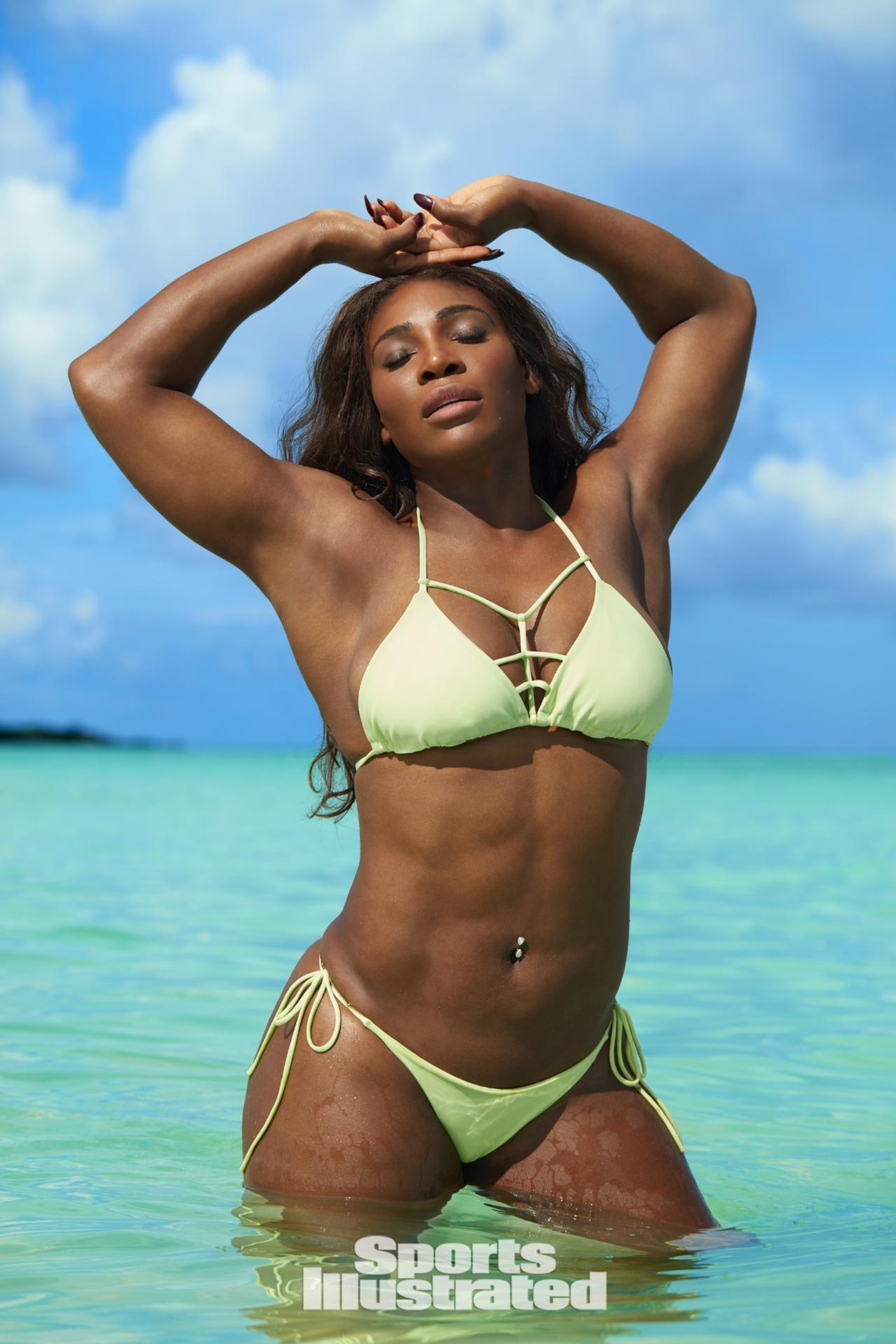 serena williams sports illustrated swimsuit