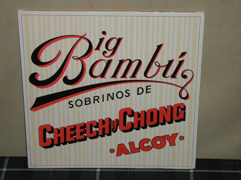 Cheech y Chong - Big Bambu (Includes Paper!) Ode first press gatefold/insert
