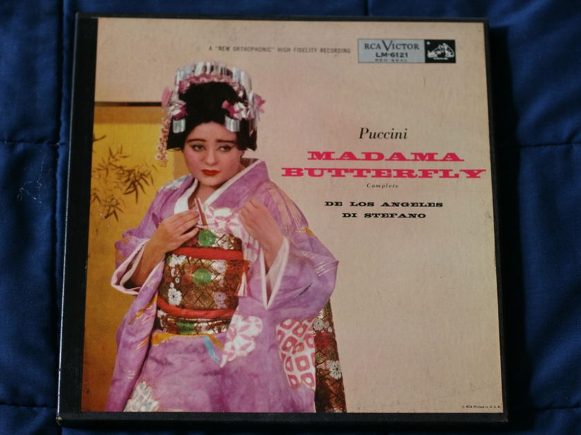 Madama Butterfly - Puccini RCA Victor LM-6121