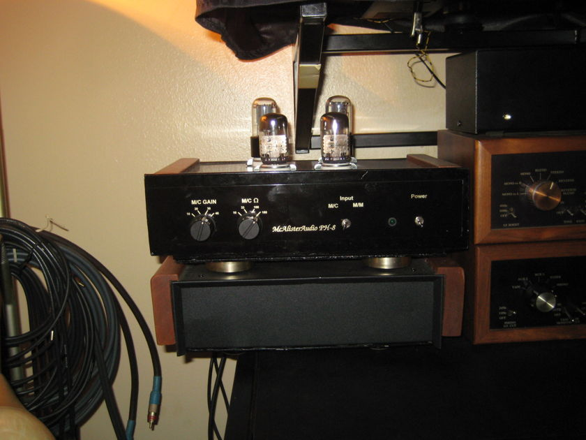 McAlister Audio PH-8 tube phono stage