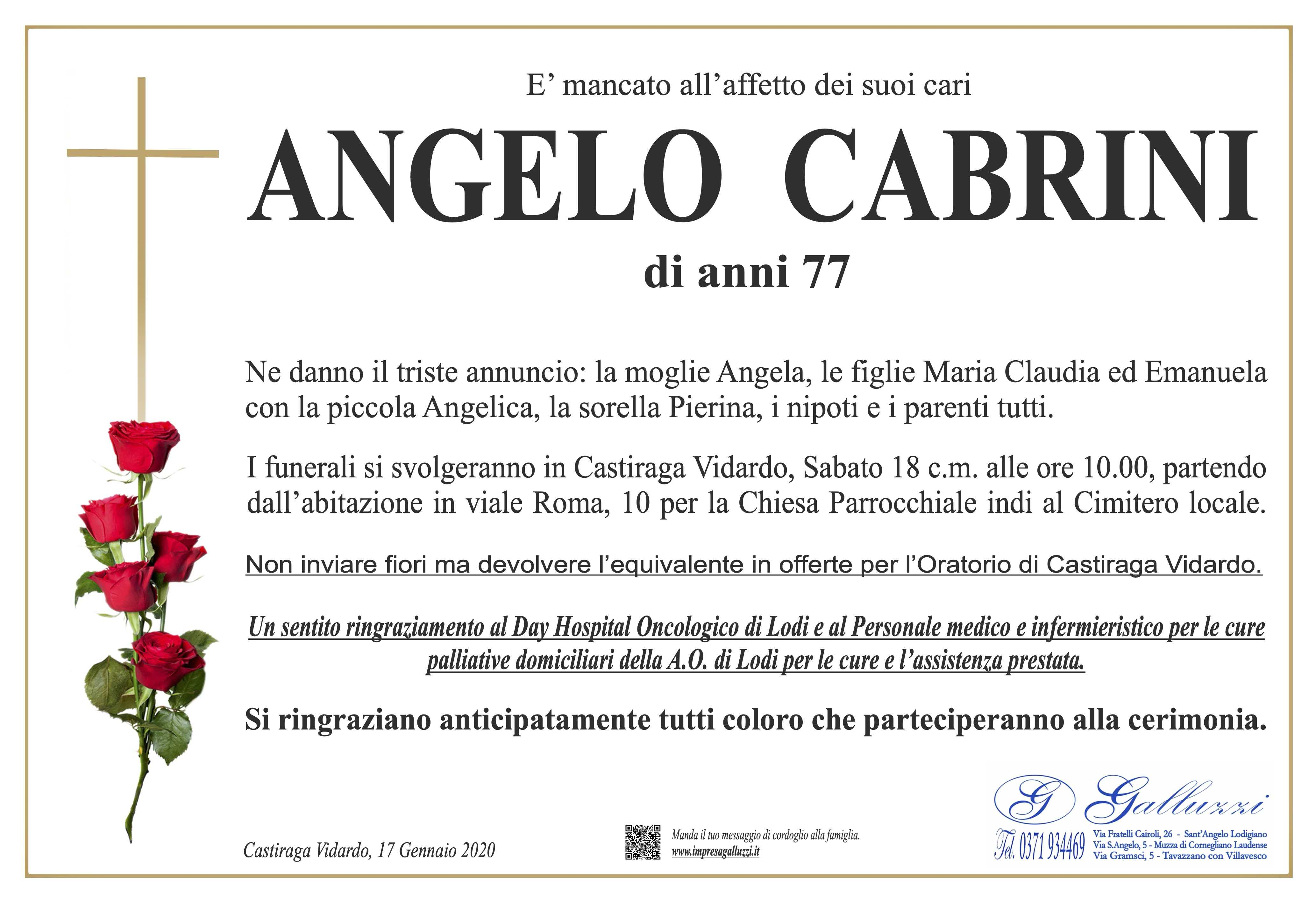 Angelo Cabrini