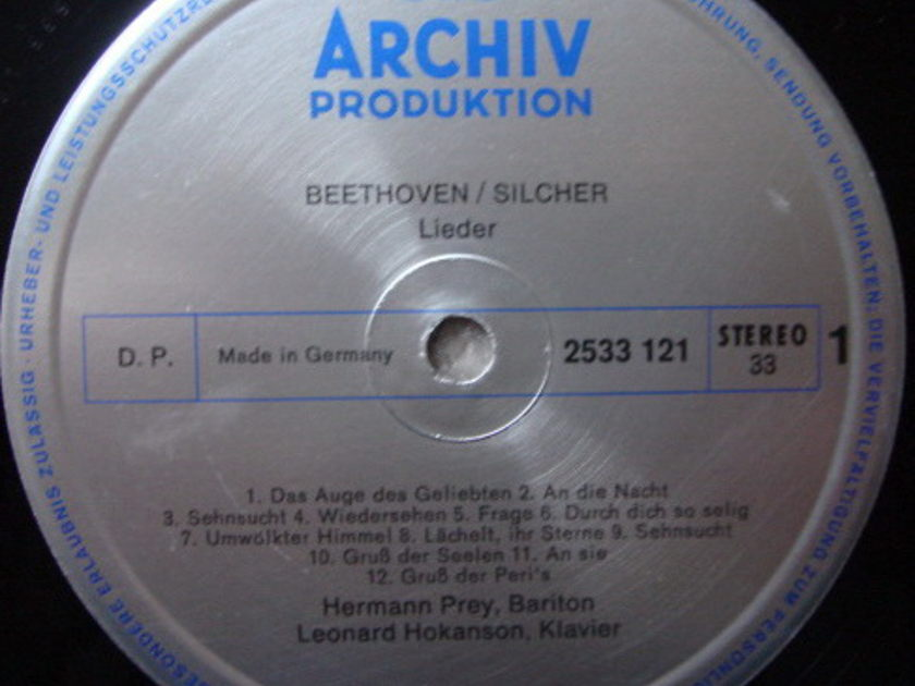 Archiv / HERMANN PREY, - Beethoven Melodies from Sonatas & Symphonies, NM!
