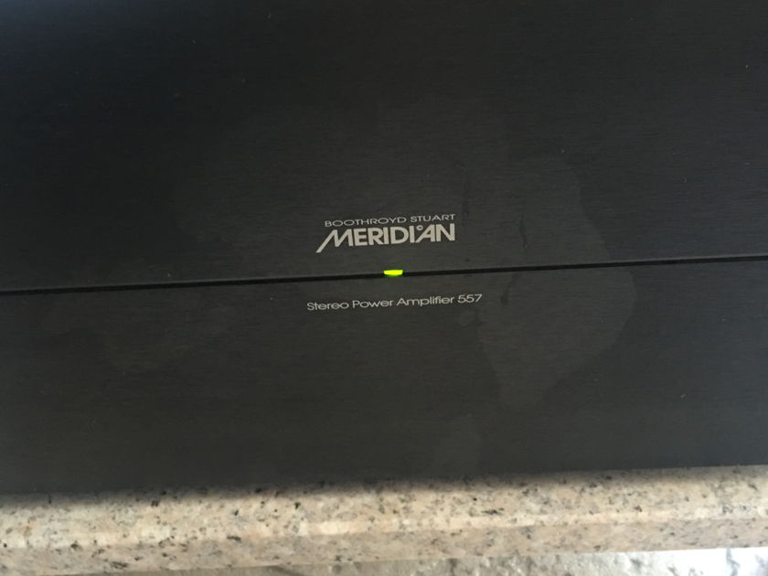 Meridian Stereo Power Amplifier  557  pair (2 items )