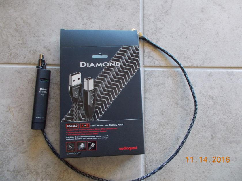 AudioQuest Diamond usb .75m A to B
