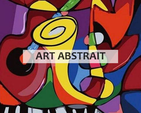 Peinture par numeros collection art abstrait