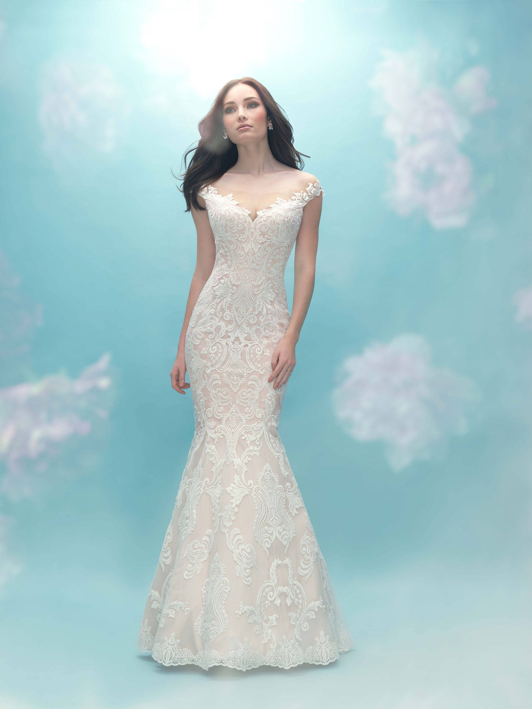 ALLURE  WEDDING DRESS 9474