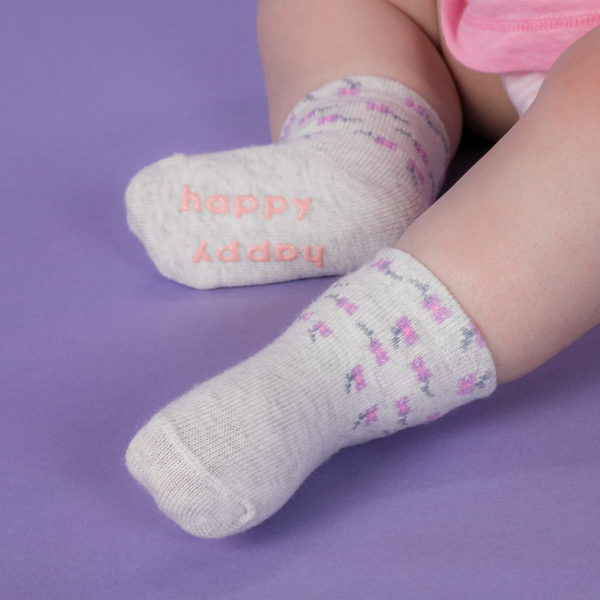 child with toddler girl socks