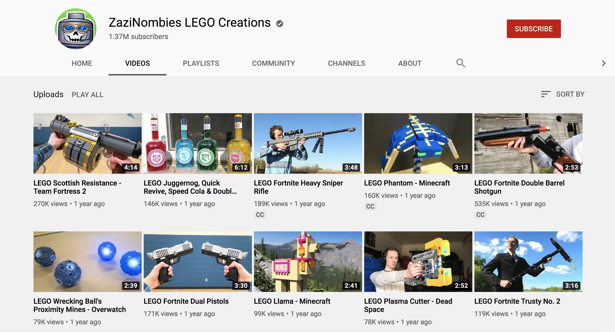 zazinombies youtube
