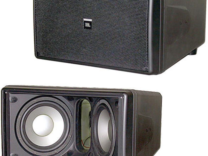 """JBL Subwoofer SB 210  Dual 10"""" Indoor/Outdoor High Output Compact Subwoofer Black"""
