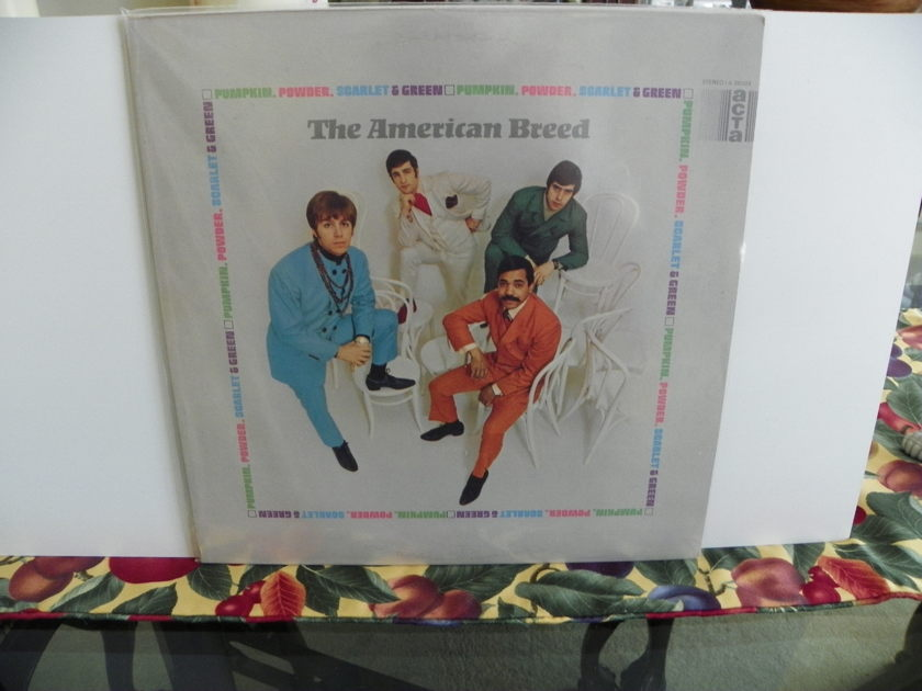 THE AMERICAN BREED - PUMPKIN,POWDER,SCARLET,& GREEN Rare